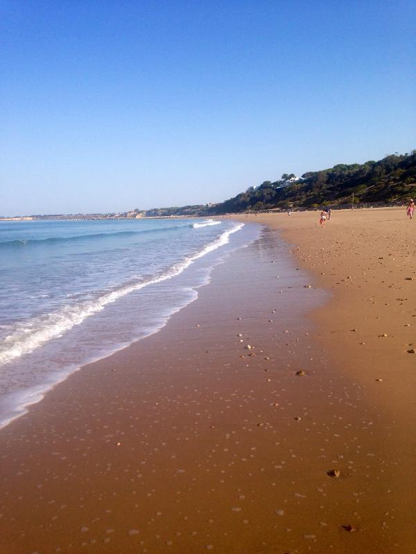 Amazing long sandy beach 5 minutes walk