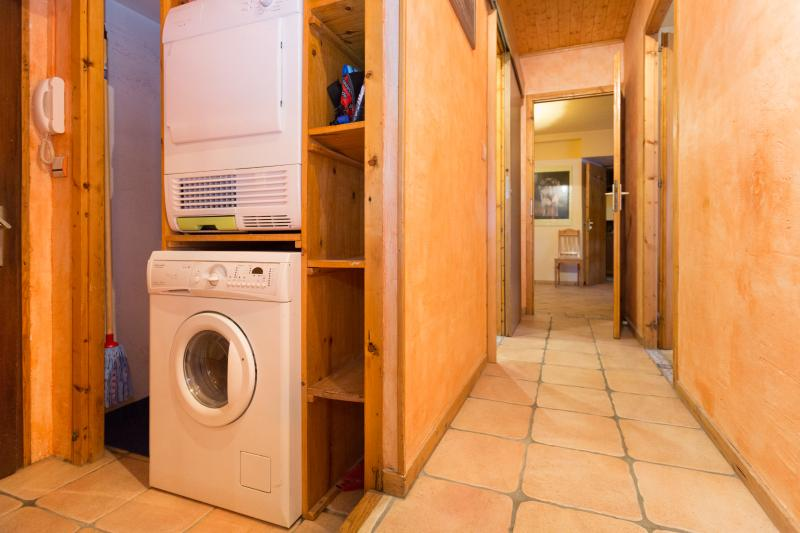 Washer and dryer available for guests.