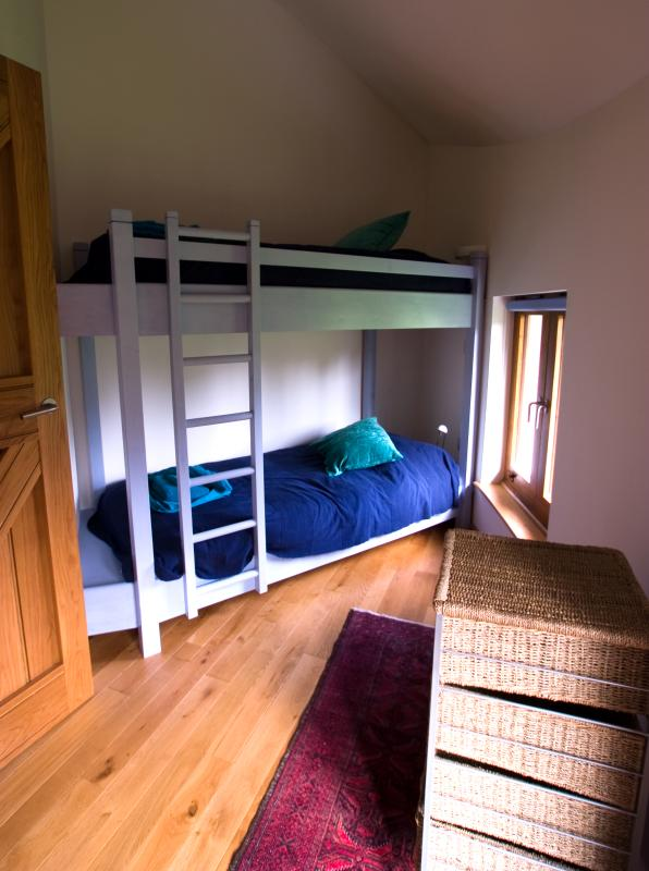 Henllys Lodge bunk bedroom
