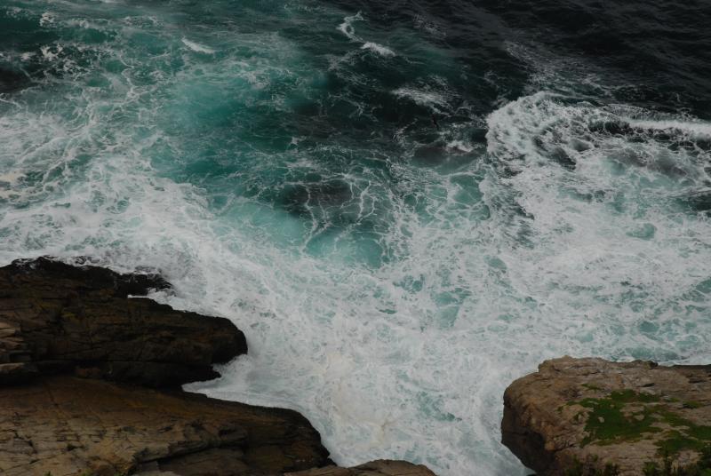 The Indian Ocean, below the deck of Moyalwandle.