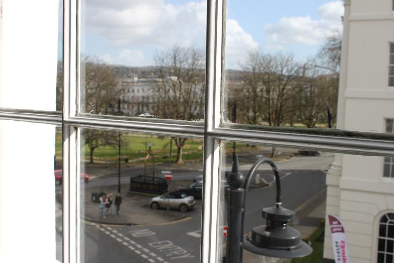 View of Imperial Gardens from the second bedroom