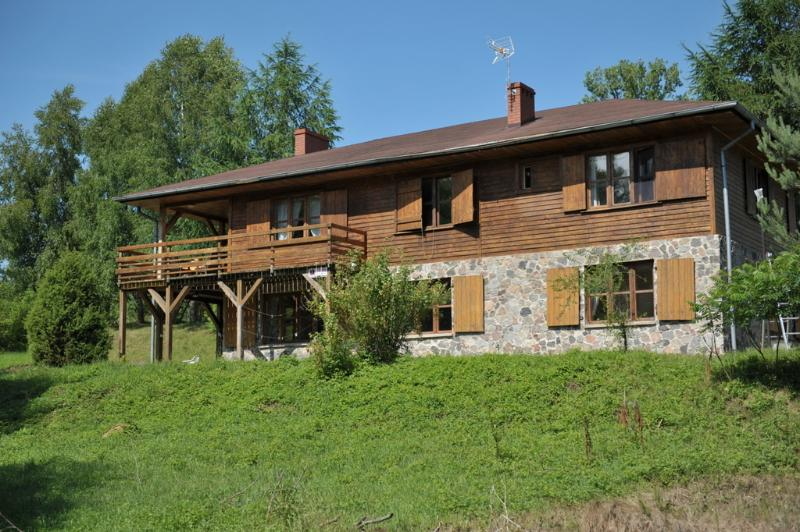 House by Stream, location de vacances à Pomerania Province
