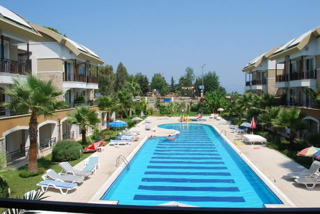 Apartment 150 m to the beach – semesterbostad i Kemer