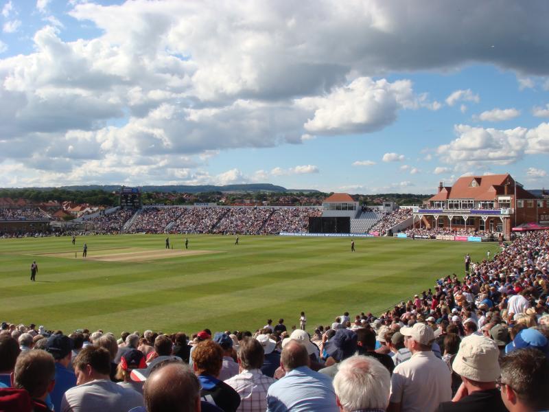 We are located next door to Scarborough Cricket Ground