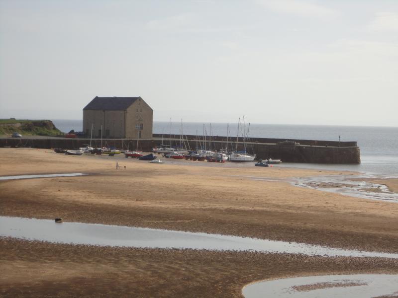 View of Elie Beach