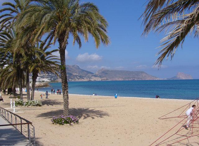 Altea beach - La Roda