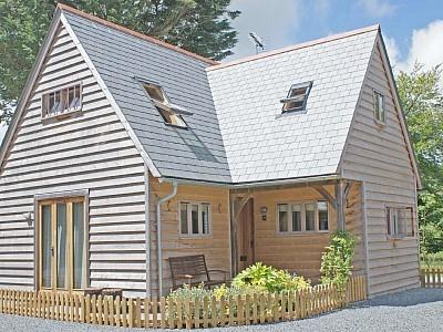 Luxury Riverside Lodge, Davidstow, North Cornwall