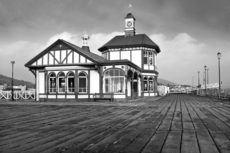 Dunoon's famous Victorias  Pier