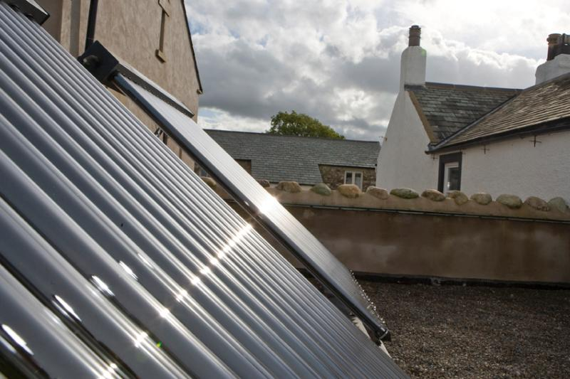 Solar panels for Skiddaw and Esther's Barn