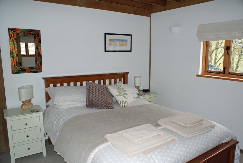 Ground Floor Beamed Double Bedroom