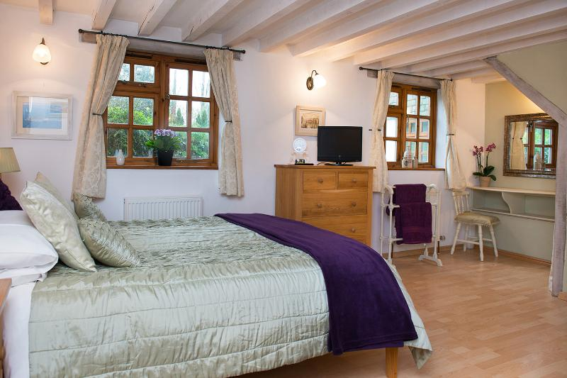 Holiday apartment bedroom