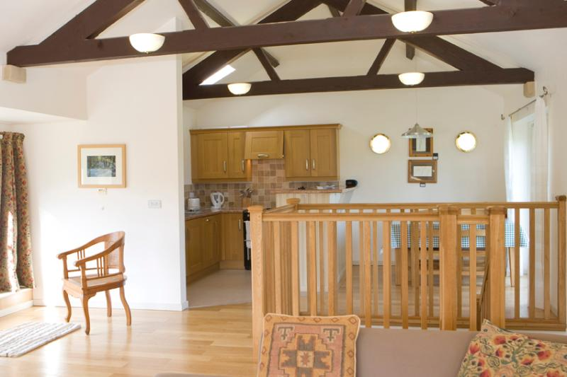Skiddaw kitchen from living area