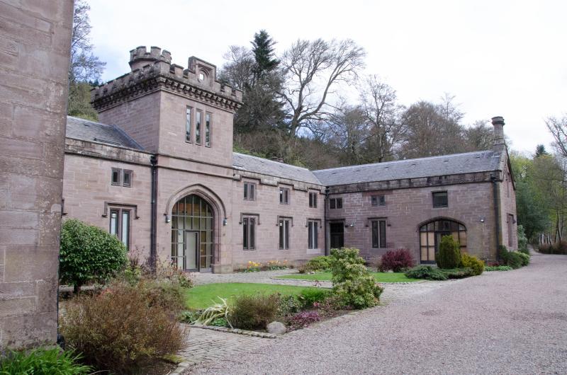 Het kasteel stallen