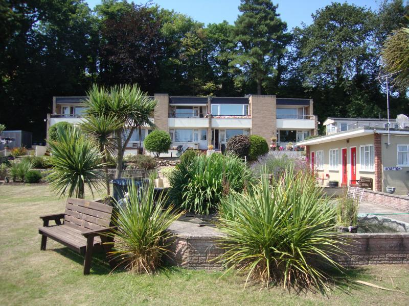 Discover the delights of Dawlish with the comfort of a sea front apartment!