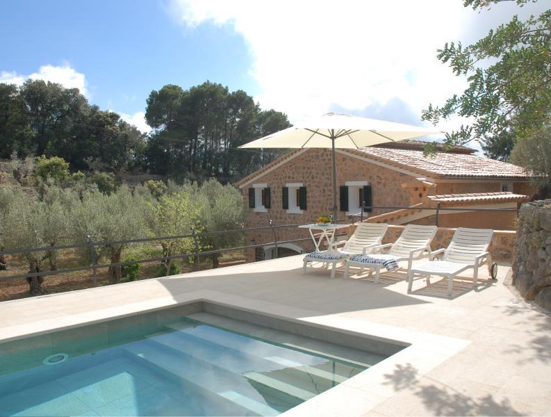 Casa rural con encanto entre olivos y con piscina, holiday rental in Sa Calobra
