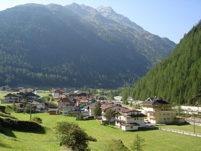 Zwieselstein in Summer, great for hiking, walking and biking