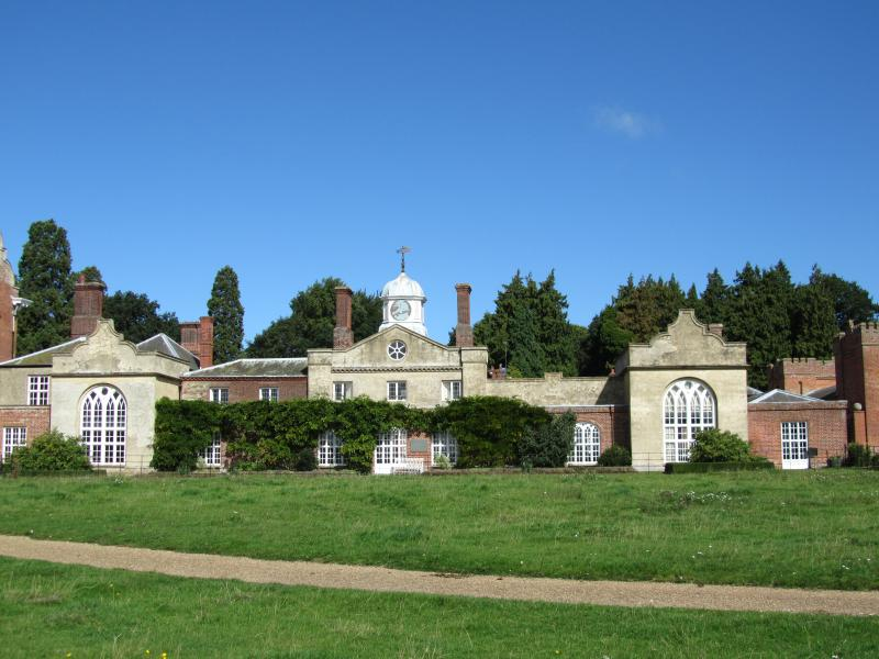 Felbrigg Hall NT property is 3 miles away