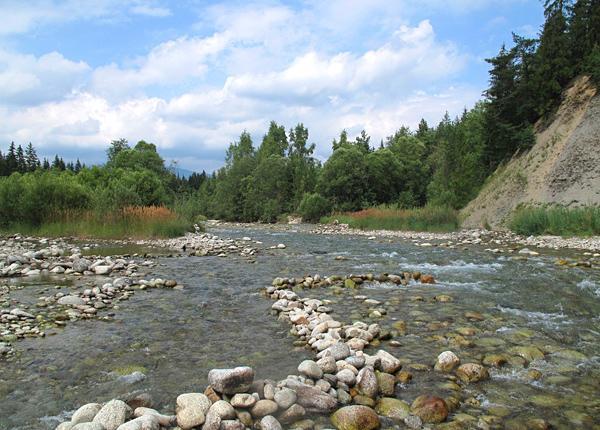Promenades de la magnifique rivière