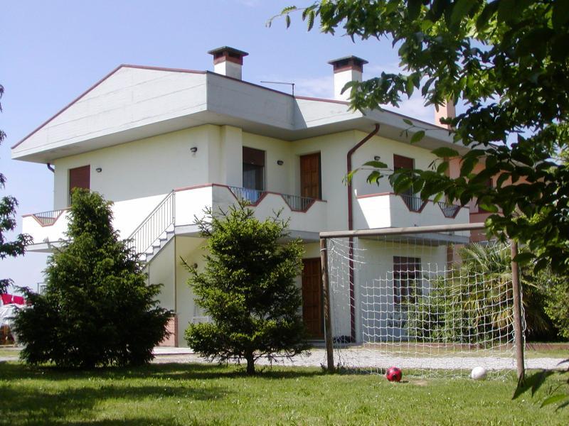 La casa del jardín