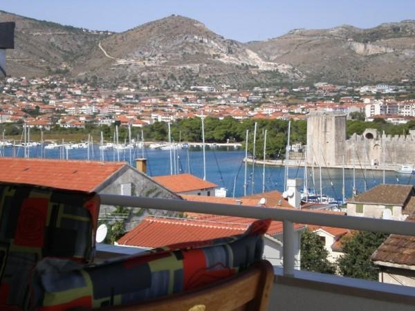 View from apartment terrace