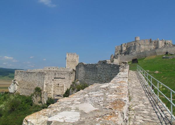 Une journée au château de Liptov