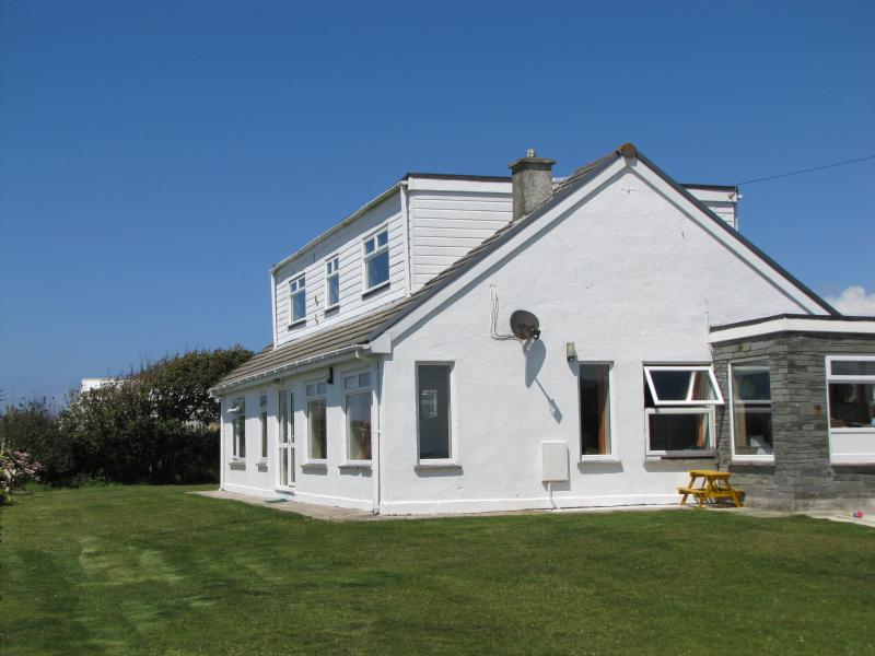 Bostaran.  The Atlantic Apartment is the top section of the bungalow with it's own separate entrance