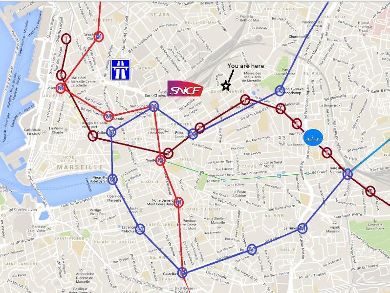 gare, tram, metro, bus, autoroute, supermarché, pharmacie... à proximité