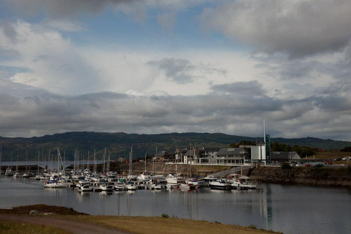 Portavadie Marina only 20 minutes walk away