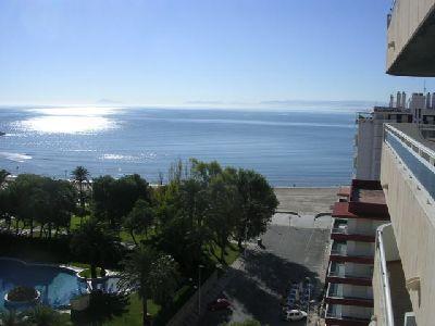Vista playa desde terraza.