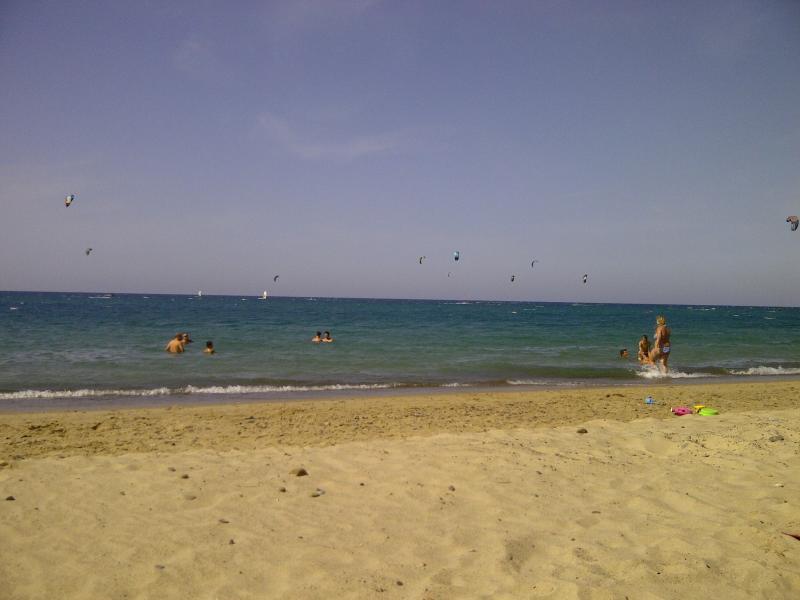 Het strand van Salinelle