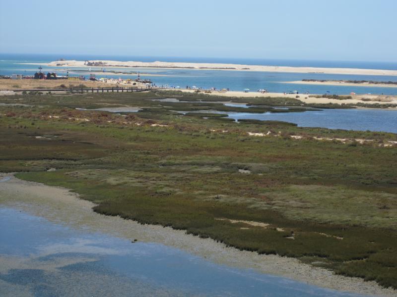 Penthouse terrace view - Ria Formosa & Armona Beach