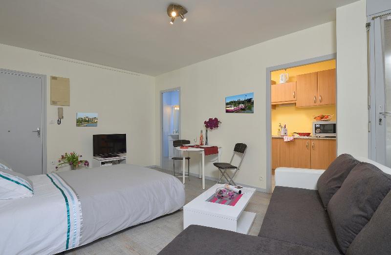 Appart'hotel en Centre Ville, location de vacances à Briollay