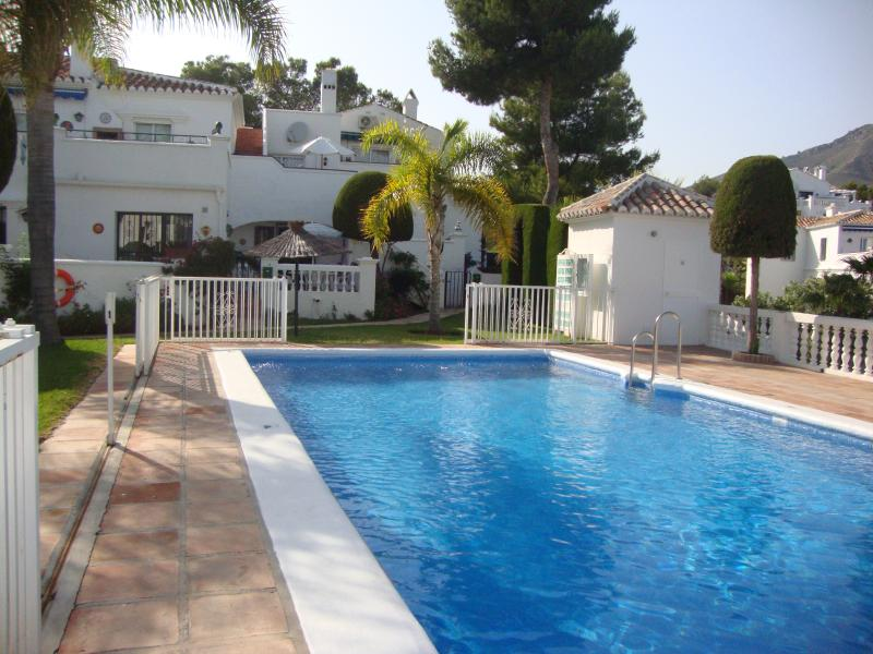 Our lovely home, and adjacent pool & gardens