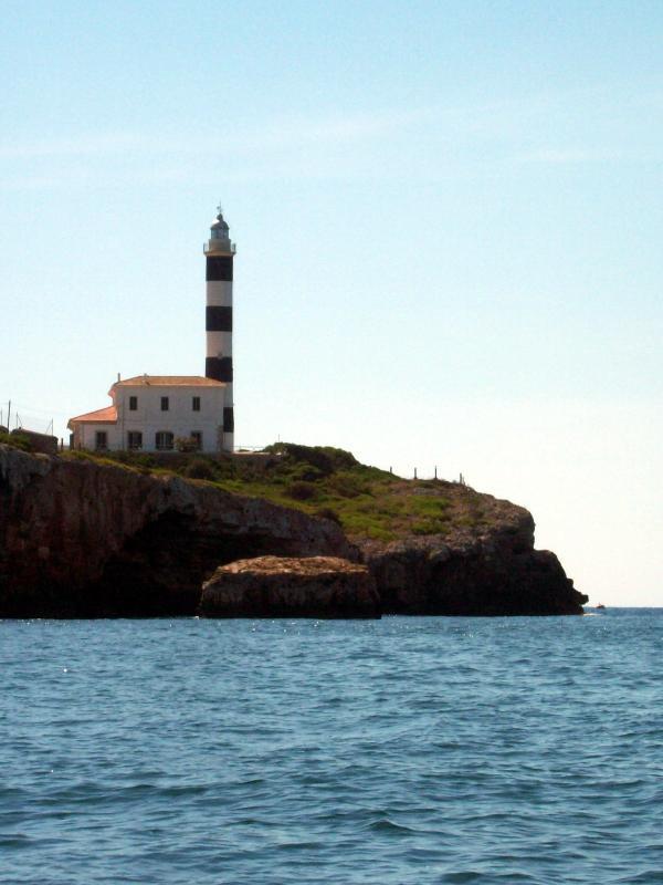 """""""El faro"""" de Portocolo. Es un agradable paseo que se puede hacer desde casa."""