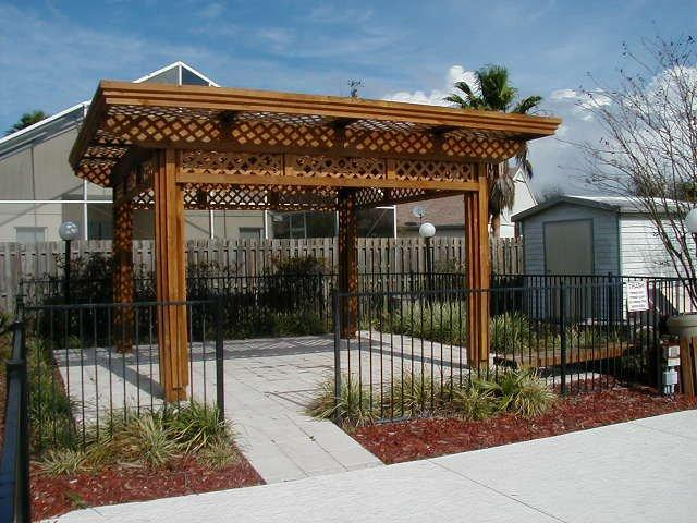 Gazebo by the Community Pool