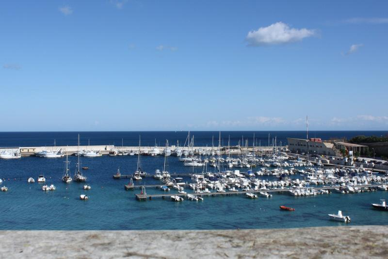 Otranto port on a perfect clear day...