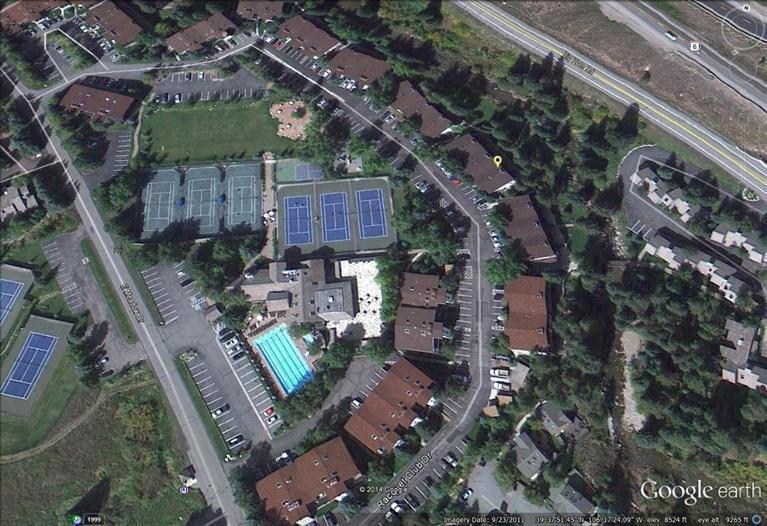 Building location in condo complex
