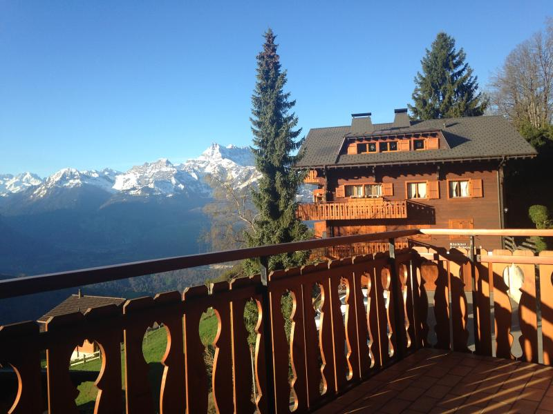 2 bed apt with stunning views is wiss alps