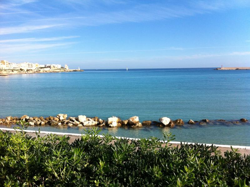 Vista from Otranto seafront