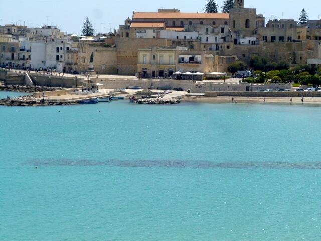 Looking over to Otranto Historic centre