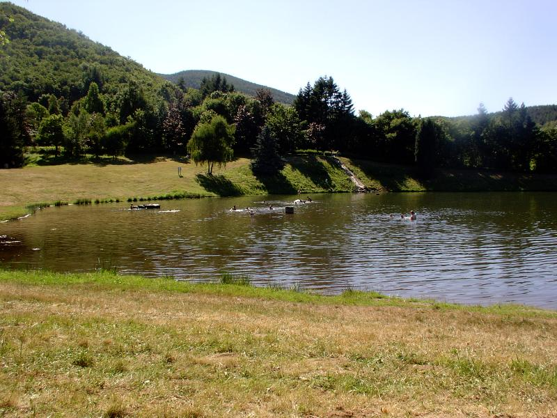 Fish or just relax at one of the beautiful lakes - This one 10 mins away at Albine