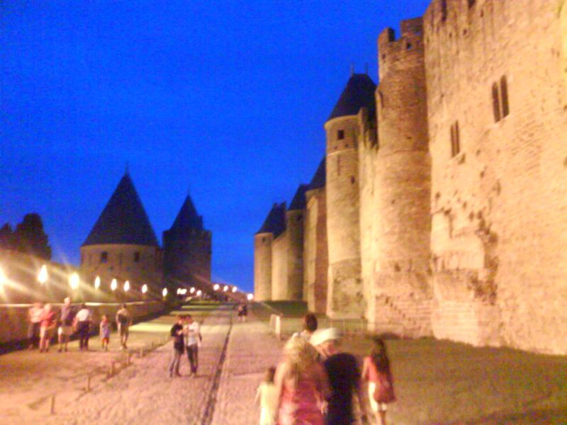 Carcassonne in an hour  - take in the history then meander throuhg the cafe-lined allees