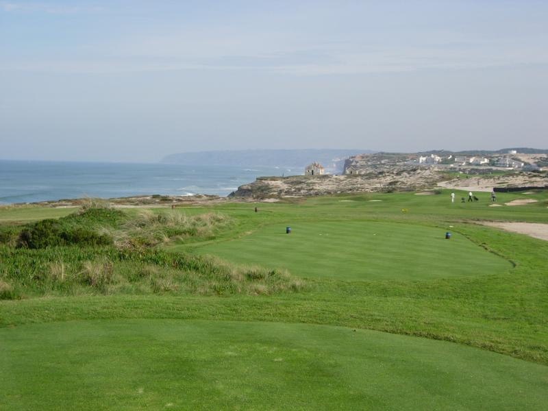 Hole 13th with views of Atlantic