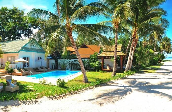 Espectacular villa frente al mar 3 dormitorios