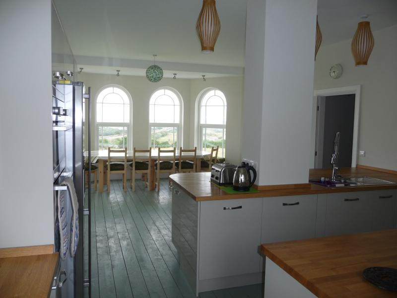 The fabulous kitchen/diner on the first floor