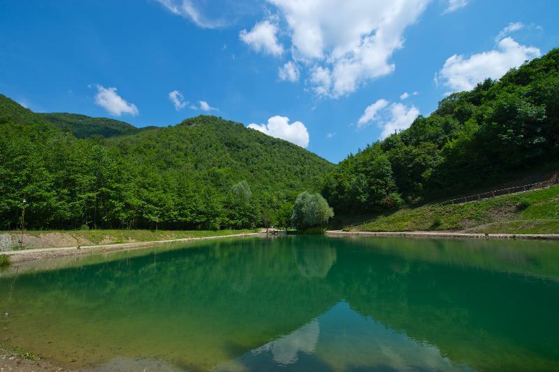 Onze Lake waar u kunt vissen
