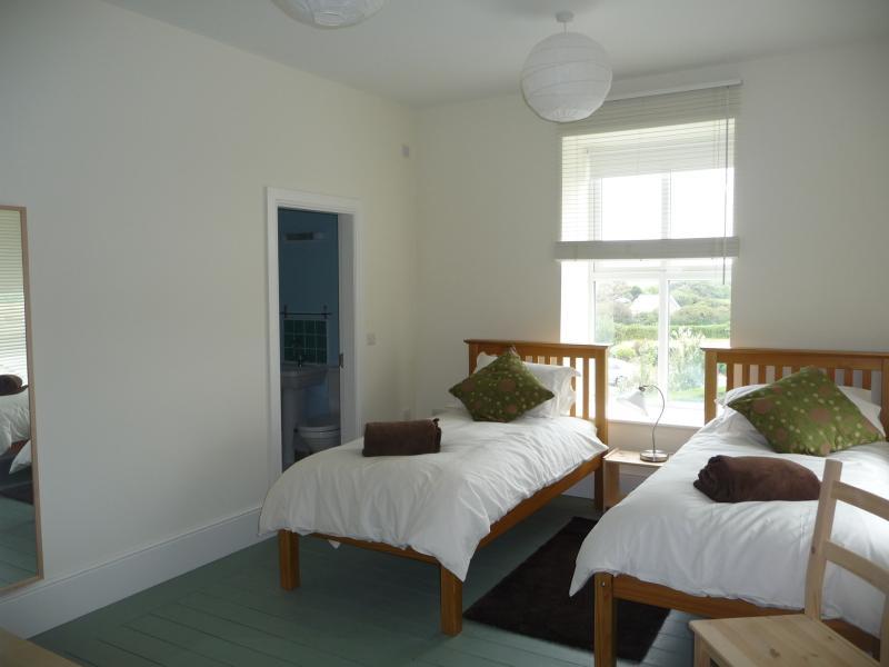 One of the twin en-suite rooms