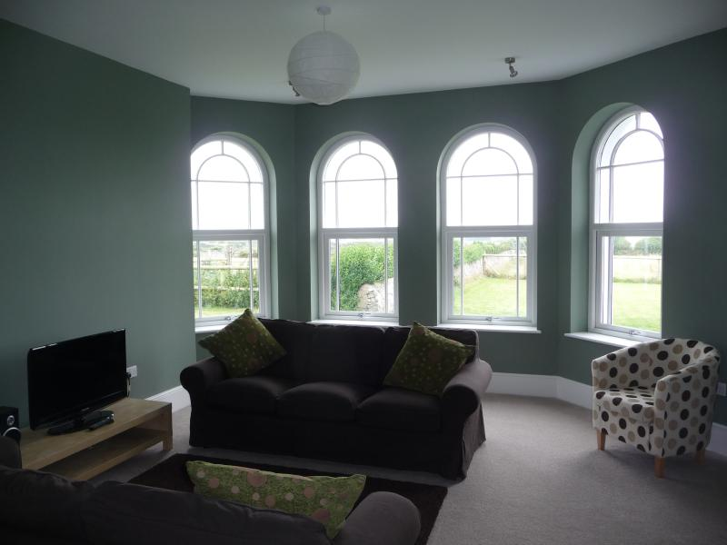 One view of the ground floor lounge