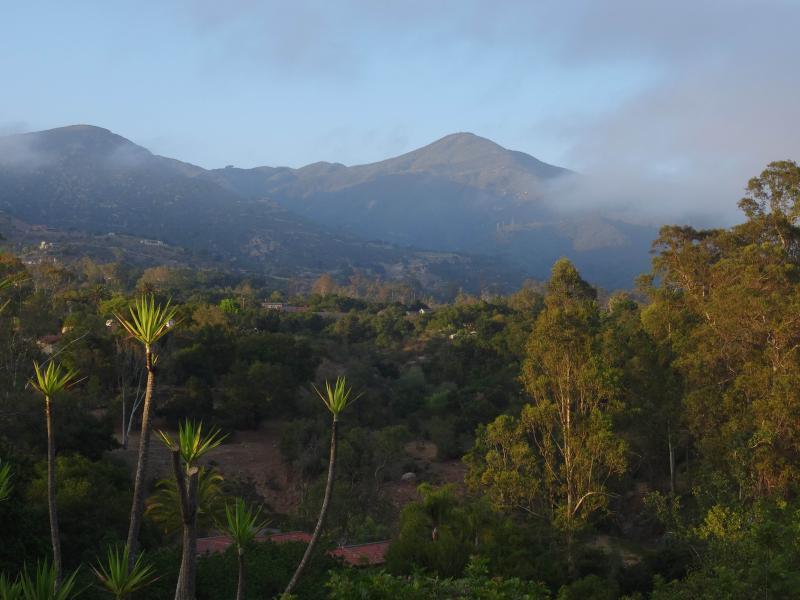 Picco di Montecito - vista dalla proprietà.