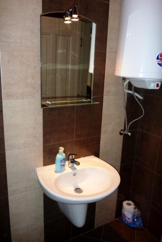 Lavabo et toilette
